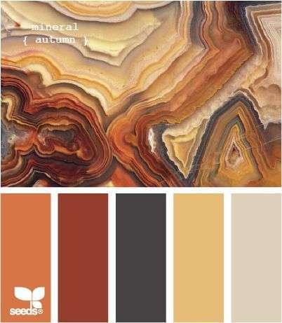 Kleurinspiratie Herfsttinten Woontrendz