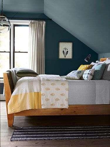 Slaapkamer Blauw En Geel Woontrendz