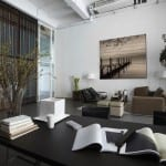Foto afdrukken op hout voor woonkamer