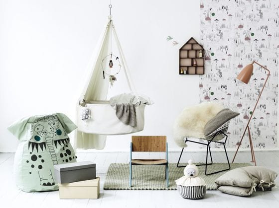 Behang Kinderkamer Scandinavisch : Ferm living kinderkamer ...