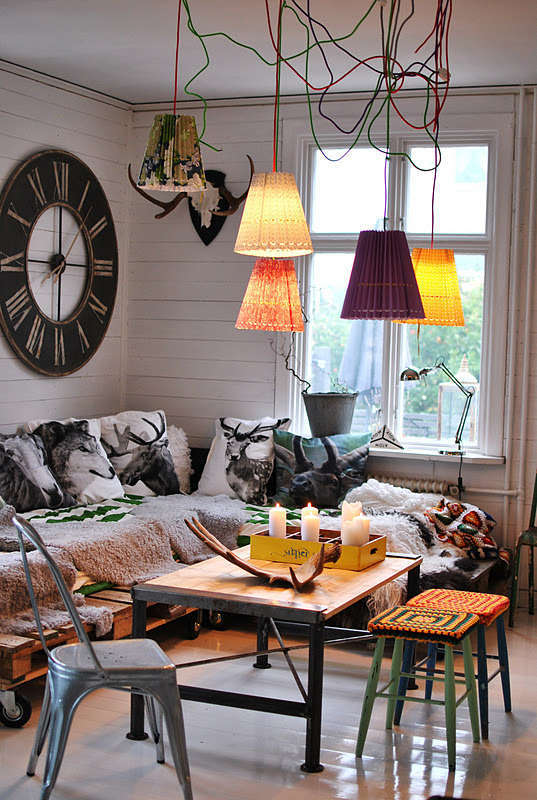 Eclectic interieur woonkamer woontrendz for Woonkamer style