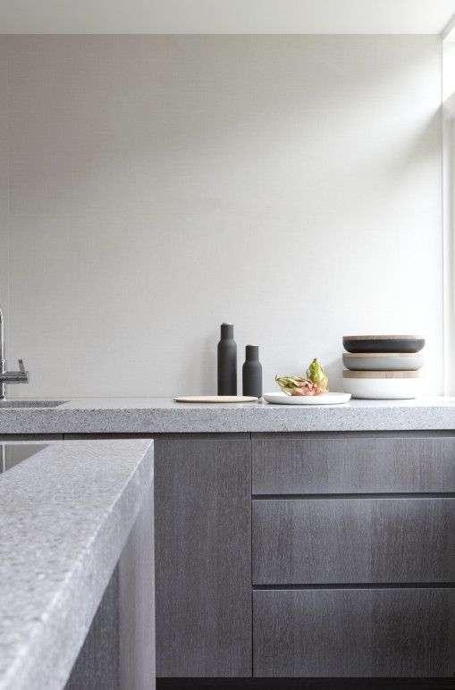 Keuken Betonlook : Betonnen keukenblad – Woontrendz