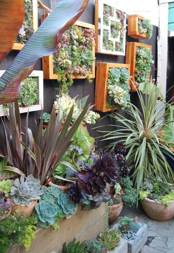 Schilderij van planten woontrendz - Trend schilderij slaapkamer ...