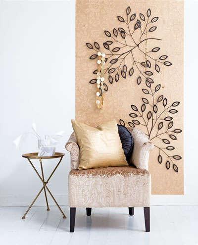 Stijlvolle wanddecoratie woontrendz - Decoratie woonkamer aan de muur ...