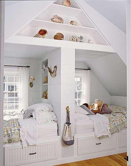 Zolderkamer voor twee woontrendz - Traumzimmer gestalten ...