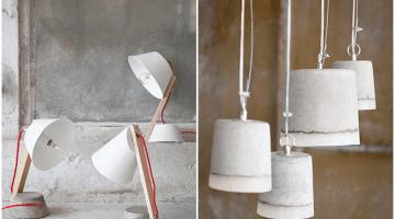 Serax beton lamp
