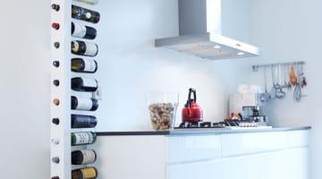 Design wijnrek keuken