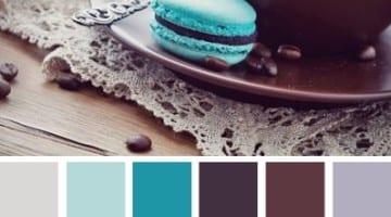 Kleurinspiratie bruin en blauw