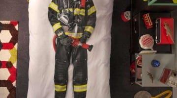 SNURK dekbedovertrek brandweer