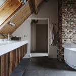Natuurlijke badkamer Walhalla