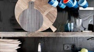 Houten snijplank decoratie