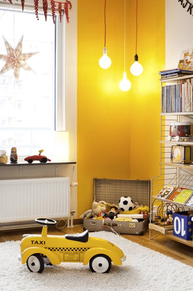 gele-kleur-kinderkamer