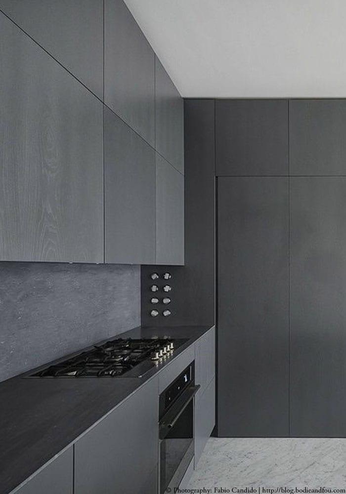 Alle Grey Modern Bedroom Set: Zwarte Keuken Inspiratie