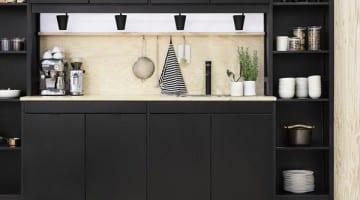 Zwarte keuken inspiratie