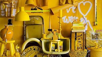 Een eerbetoon aan de kleur geel