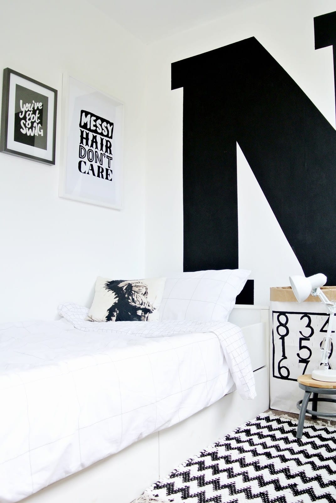 Retro Vintage Boys Room