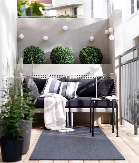 Balkoninspiratie ikea meubel