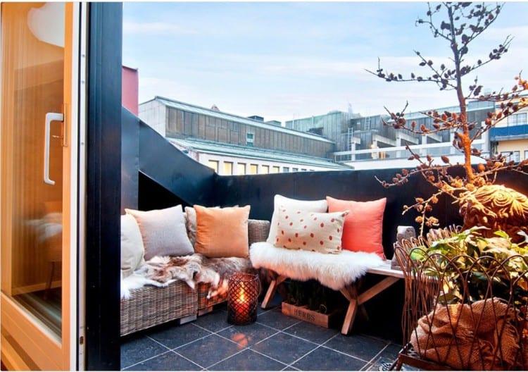 Knusse balkon inspiratie