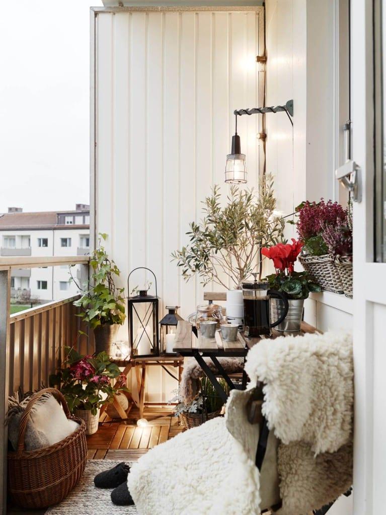 Landelijke balkon inspiratie