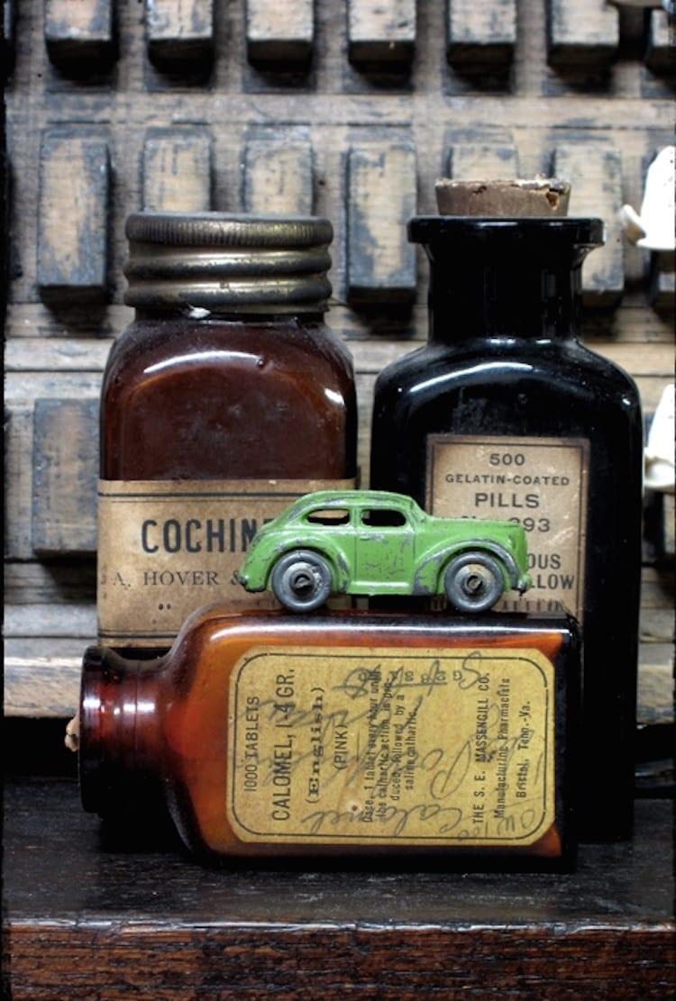 Deco vintage speelgoed