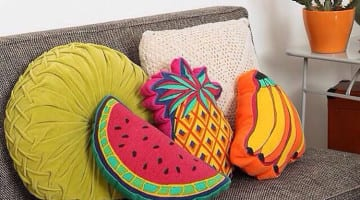Een zomers huis met een fruitig tintje
