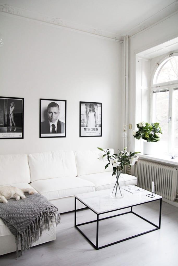 Interieur met wit