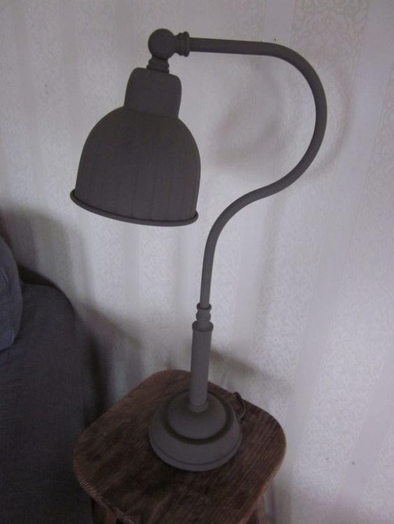 Krijtverf lamp