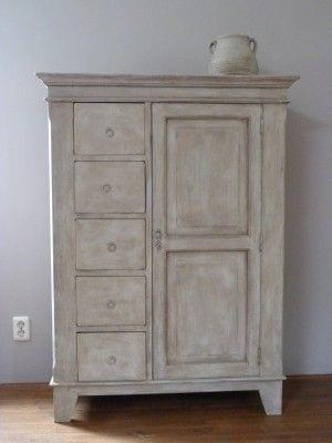 Krijtverf meubels