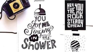 Handlettering, creatief met letters voor je interieur!