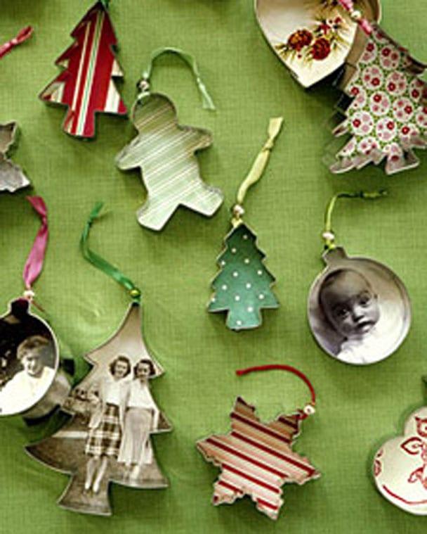 Kerstbal DIY ornament koekjes