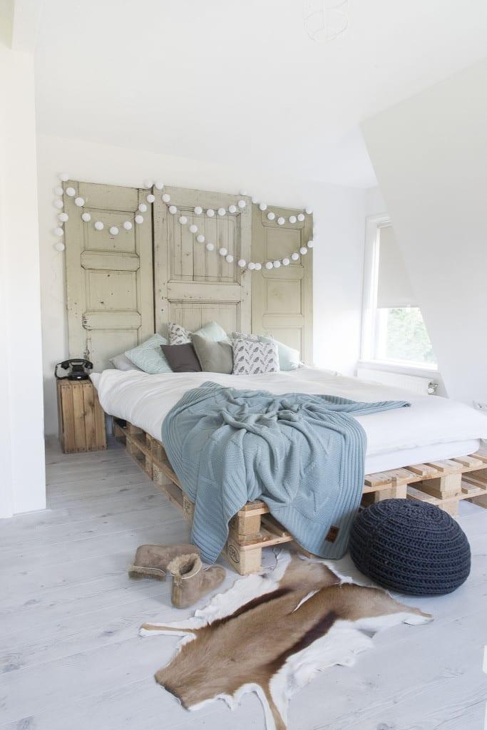 Binnenkijken bij Marlou & Jurre - slaapkamer