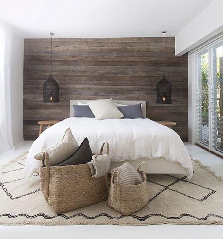 Slaapkamertrend met vloerkleed