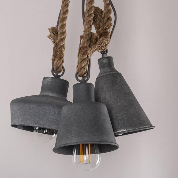 Beton hanglamp industrieel