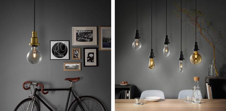 Osram pendulum vintage lampen