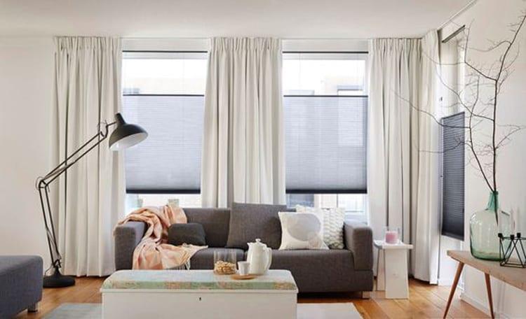 Plissegordijnen raamdecoratie