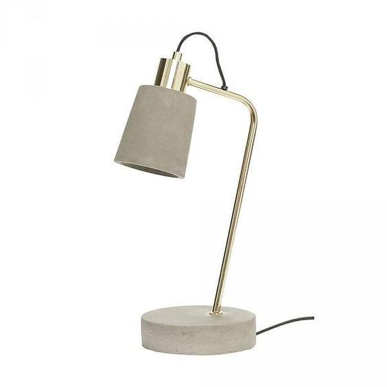 Beton tafellamp