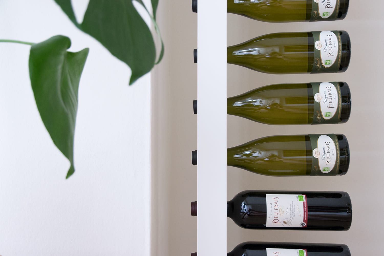 Wijnpaal in huis bij Hiske & Mark - Woontrendz