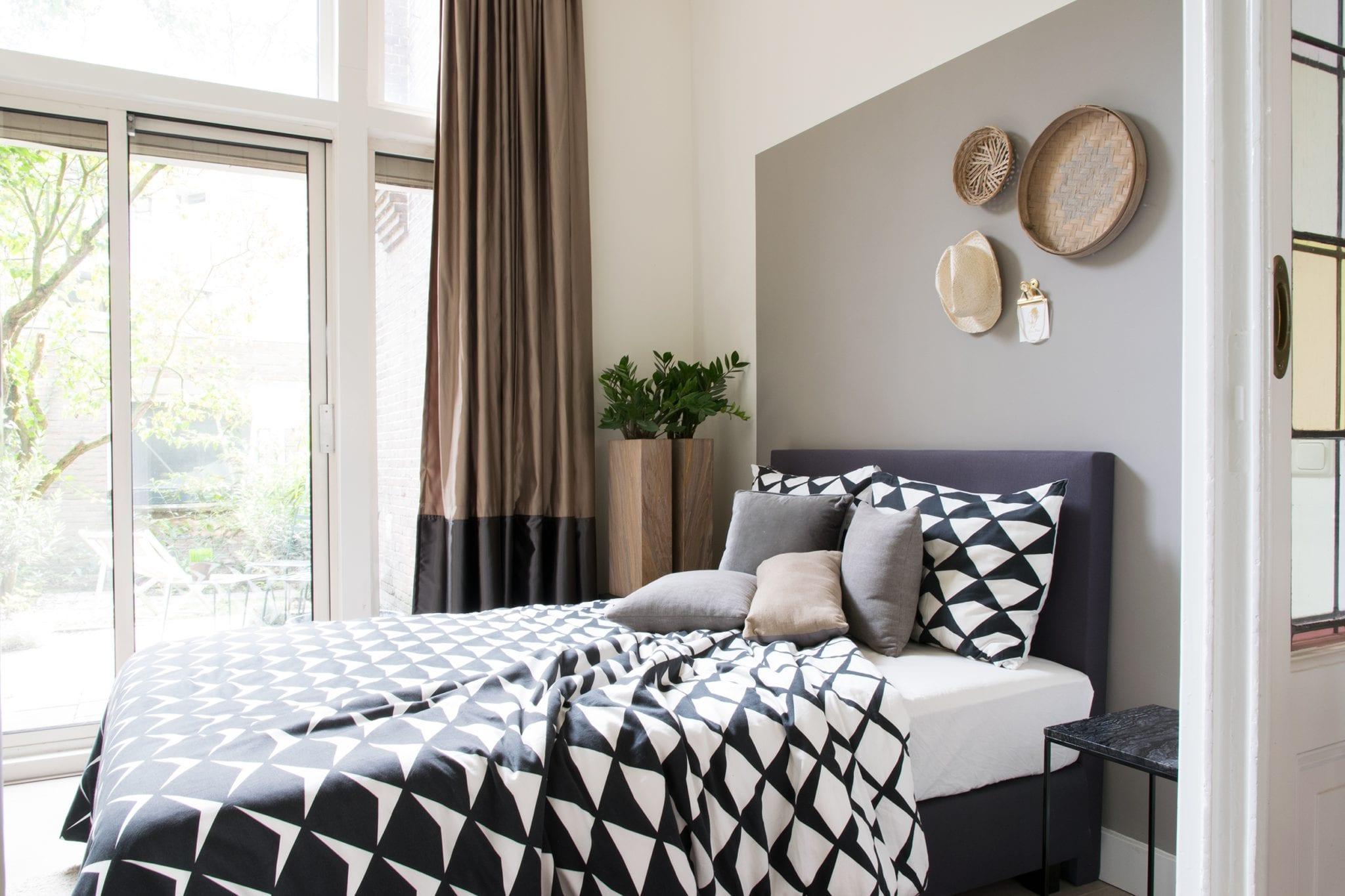 Woontrendz-binnenkijken bij Klaas in de slaapkamer