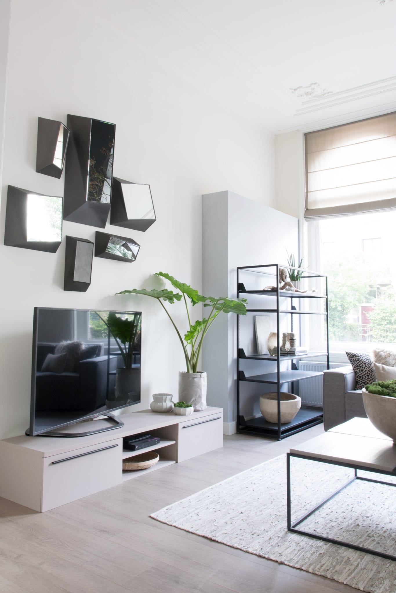 Woontrendz binnenkijken bij Klaas - tv meubel