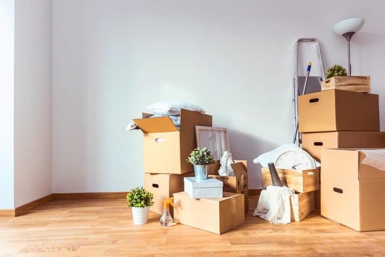 Verhuisdozen verhuizing