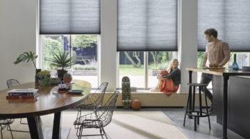 De nieuwste technologie, bedienbare raambekleding