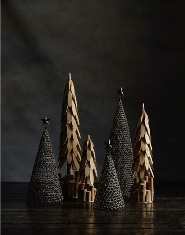 Nordal houten kerstboom VTwonen