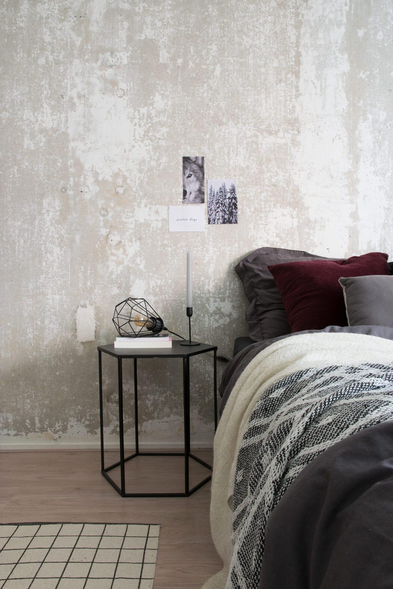 Binnenkijken bij Hilgré in Groningen - slaapkamer