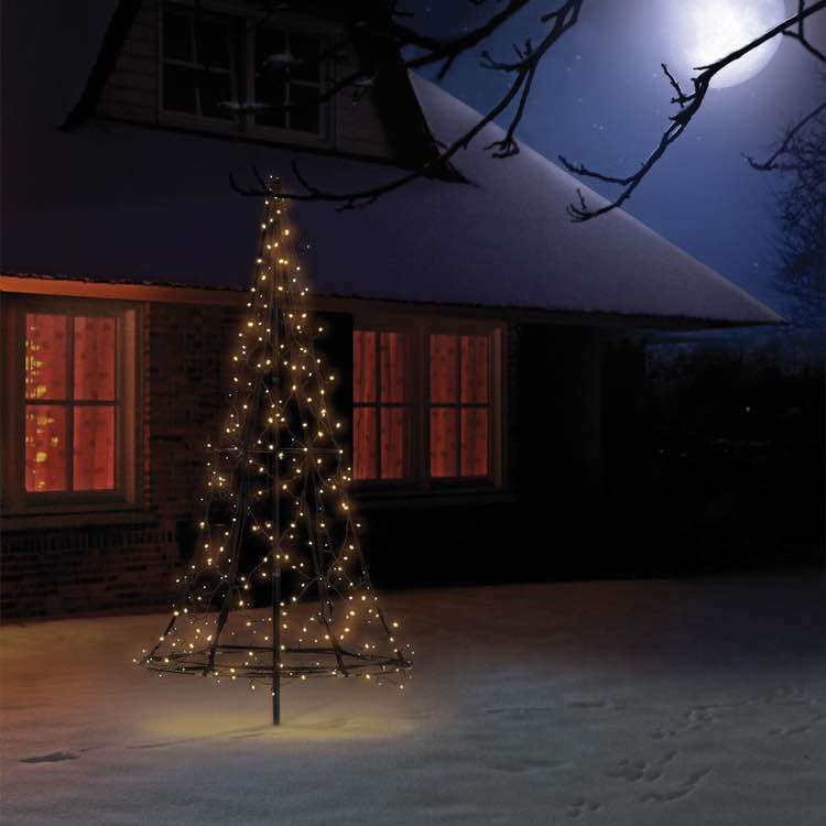 Fairybell led kerstboom voor in de tuin