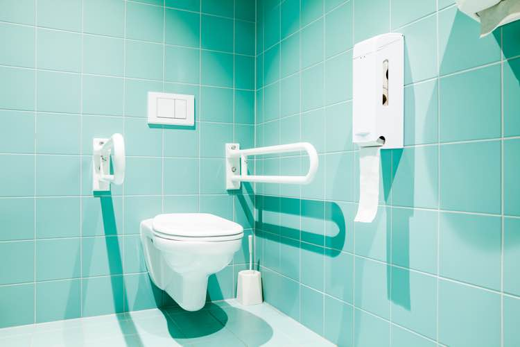 Toilet mindervaliden