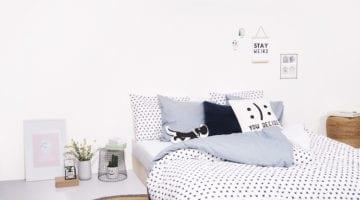 HEMA accessoires in de slaapkamer