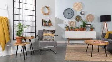 Gewaagde kleur combinaties woonkamer