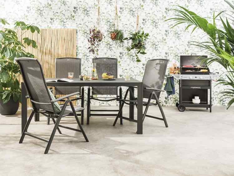 Zithoek grijs met relaxstoelen - Leen Bakker