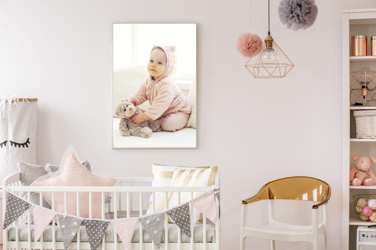 Poster kinderkamer met kindje