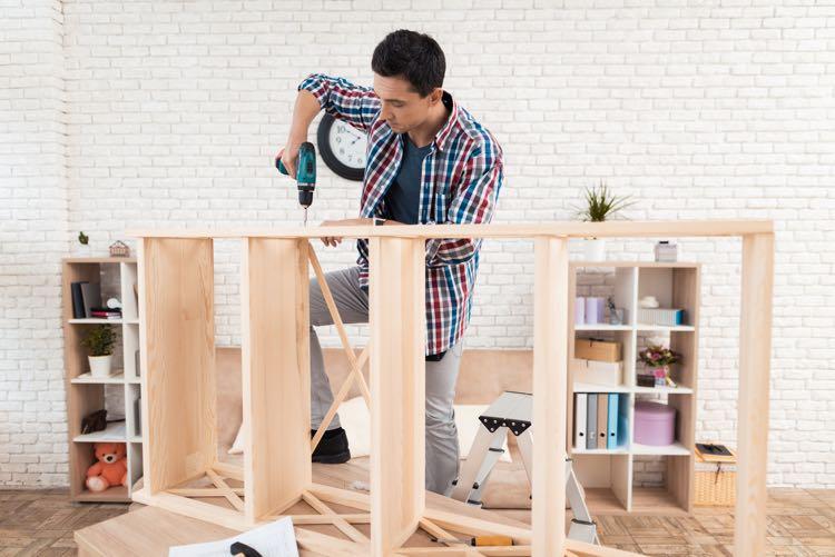 DIY boekenkast zelf maken